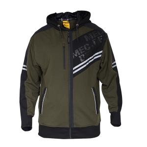 Men's Hooded Fleece Jacket-JK-FL-991