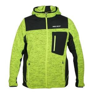 Men's Hooded Fleece Jacket-JK-FL-999