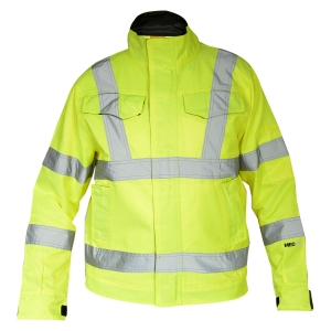 Hi Viz Construction Jacket-JK-HV-1000