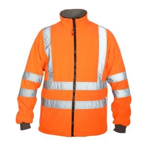 Hi Viz Fleece Jacket-JK-HV-925