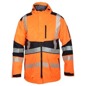 Hi Viz Winter Hooded Jacket-JK-HV-995